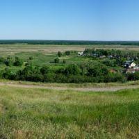 панорама от церкви Покрова Пресвятой Богородицы, Бобров