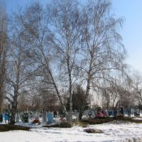 Cemetery. Bobrov. Voronezh Region, Бобров