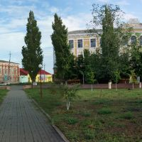 Богучарский центральный парк и интернат, Богучар