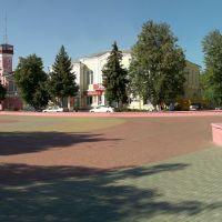 Центральная площадь Богучара, Богучар