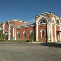 Museum, former church in Zaliman, Богучар