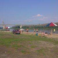 пляж на Дону, Верхний Мамон