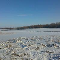 Середина января, а на Дону только становится лёд., Верхний Мамон