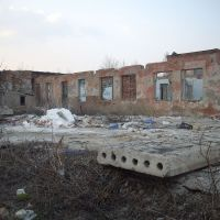 Развалины Березовского Сыродельного Завода 2010 год, Воробьевка