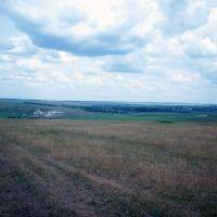Березовка, вид с Юрченковой горы, Воробьевка
