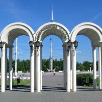 Адмиралтейская площадь. Воронеж. Россия, Воронеж