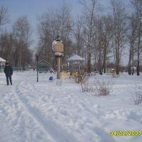 Зимний парк.Winter park, Лиски
