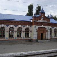 Davydovka. Railway station / Давыдовка. Ж.д. вокзал, Давыдовка