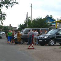 Разбор ДТП на общем собрании Давыдовки., Давыдовка