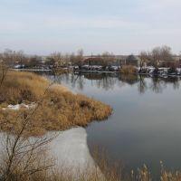 Река Елань и п. Елань-Коленовский, Елань-Коленовский