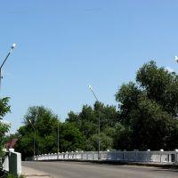 Городской мост через речку Толучеевка, Калач