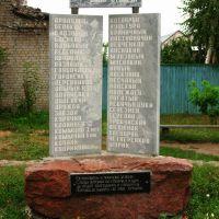 Памятник малым хуторам прекратившим свое существование, Калач