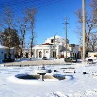 Центр города. городской фонтан. декабрь 2009., Калач