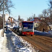 Городской мост через речку Толучеевка., Калач