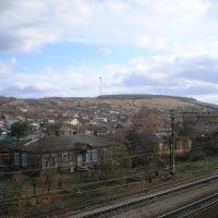 Вид с железнодорожного моста, Кантемировка