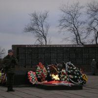 Памятник Неизвестному Солдату на площади Ленина, Кантемировка