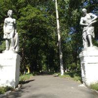 Парадный вход в парк, Нижнедевицк