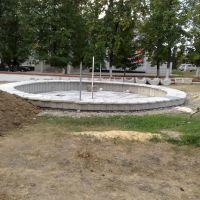 Реконструкция фонтана, Нижнедевицк