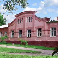 Бывшая Земская больница гл. корпус, ныне Родильное отделение ТМО, Острогожск