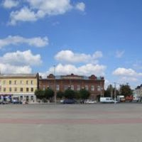 Острогожск. Панорама главной площади., Острогожск