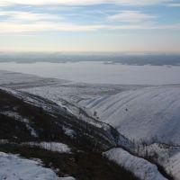 Вид с горы. Зима., Петропавловка