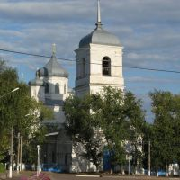 Храм село Репьёвка     . Church in the village Repevka., Репьевка