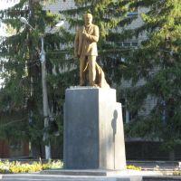 Памятник В.И.Ленину     . Monument to Lenin., Репьевка