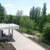 Вид из окна школы, Репьевка