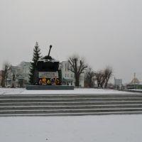 Памятник танкистам, Россошь