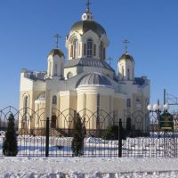Свято Илиинский храм в г.Россошь, Россошь