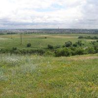 panorama Voronezha iz Semiluk, Семилуки