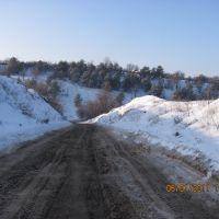 зимняя дорога, Семилуки