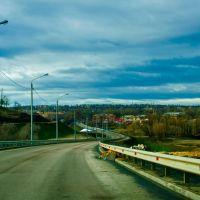 новая дорога (из быстрорастворимого асфальта), Семилуки