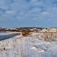 зимнее поле/весенняя река, Семилуки