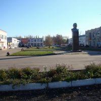 привокзальная площадь, вид на юг, Таловая