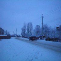 Таловая, ул. Маршака, зима 2008-2009, Таловая