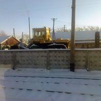Тягач ЧТЗ Восстановительного поезда ст. Таловая, Таловая