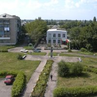 С крыши здания почты, Таловая