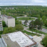 Вид на Комсомольскую площадь, Саров