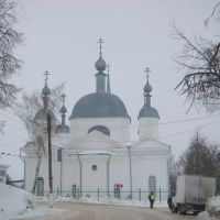 Church in the center of town Ardatov, Ардатов
