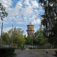 Водонапорная башня с ул. Карла Маркса, Арзамас