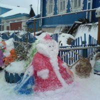 Снежный дед мороз, Балахна