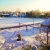 стадион зимой, Богородск