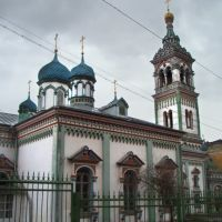 Church Saint Nicholas in Rogozhskoe cemetery, Большереченск