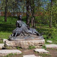 Памятник маленькому Пушкину и няне Арине Родионовне, Большое Болдино