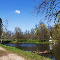 Пруд в государственном музее-заповеднике Пушкина, Большое Болдино