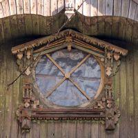 Окно чердака - зодчество, Большое Козино
