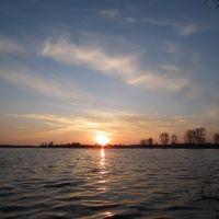 Закат весной..., Большое Козино