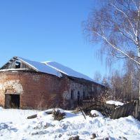 Руины церкви-Ruins of church, Большое Мурашкино