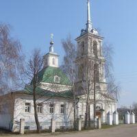 Церковь Троицы Живоначальной Troickaya church, Большое Мурашкино
